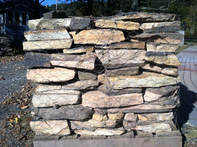 West Mtn Brn Wall